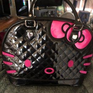 New black Hello Kitty Loungefly purse